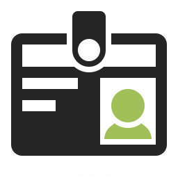 Id Badge Icon 256x256