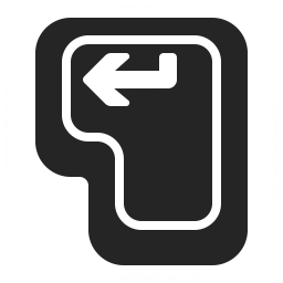 Keyboard Key Enter Icon 256x256