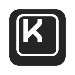 Keyboard Key K Icon 256x256