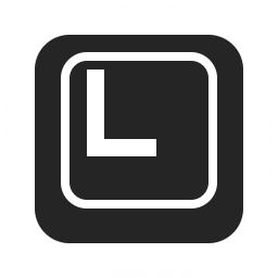 Keyboard Key L Icon 256x256