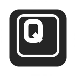 Keyboard Key Q Icon 256x256