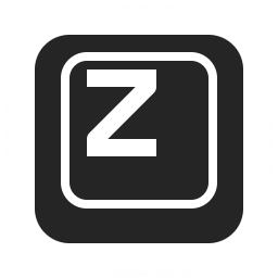 Keyboard Key Z Icon 256x256