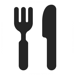 Knife Fork Icon 256x256