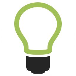 Lightbulb Off Icon 256x256