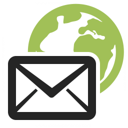 Mail Earth Icon 256x256