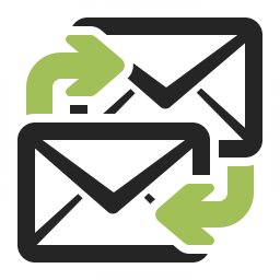 Mail Exchange Icon 256x256