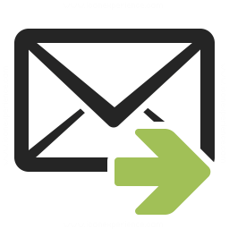 Mail Forward Icon 256x256