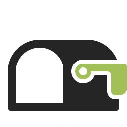Mailbox Empty Icon 256x256