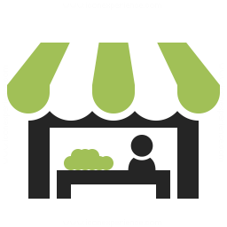 Market Stand Icon 256x256