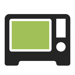 Microwave Oven Icon 256x256