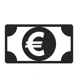 Money Euro Icon 256x256