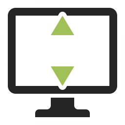 Monitor Height Icon 256x256