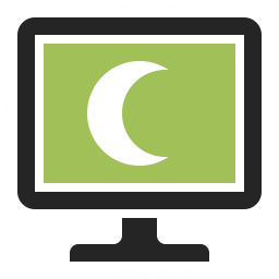 Monitor Sleep Icon 256x256