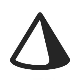 Object Cone Icon 256x256