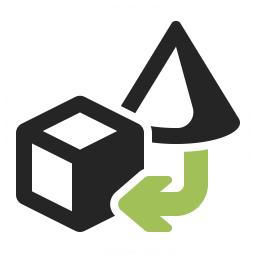 Objects Transform 2 Icon 256x256