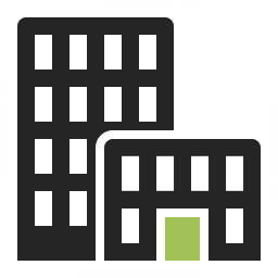 Office Building Icon 256x256