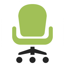 Office Chair Icon 256x256