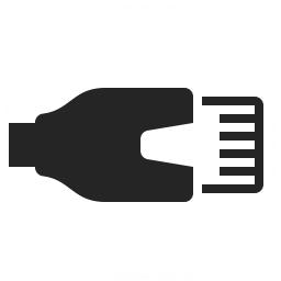 Plug Lan Icon 256x256