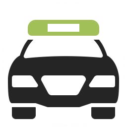 Police Car Icon 256x256