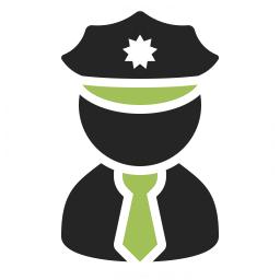 Policeman Icon 256x256