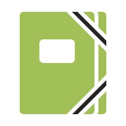 Portfolio Folder Icon 256x256