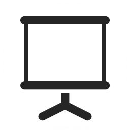 Presentation Empty Icon 256x256