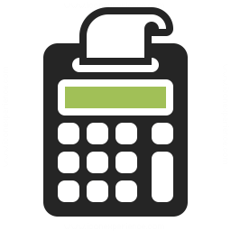 Print Calculator Icon 256x256