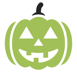 Pumpkin Halloween Icon 256x256