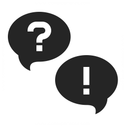 Question And Answer Icon Iconexperience Professional Icons O Collection