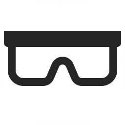 Safety Glasses Icon 256x256
