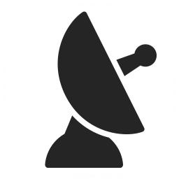 Satellite Dish Icon Iconexperience Professional Icons O Collection