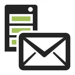 Server Mail Icon 256x256