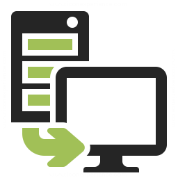 Server To Client Icon 256x256