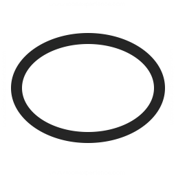 Shape Ellipse Icon 256x256