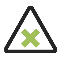 Sign Warning Harmful Icon 256x256