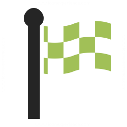 Signal Flag Checkered Icon 256x256