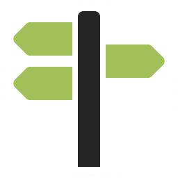 Signpost 2 Icon 256x256