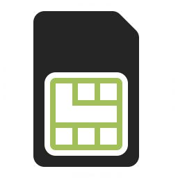 Sim Card Icon 256x256