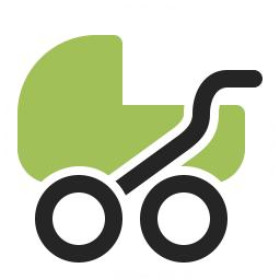 Stroller Icon 256x256