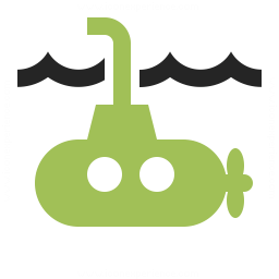 Submarine Icon 256x256