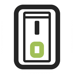 Switch 2 Off Icon 256x256