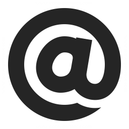 Symbol At Icon 256x256