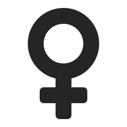 Symbol Female Icon 256x256
