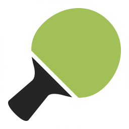 Table Tennis Racket Icon 256x256