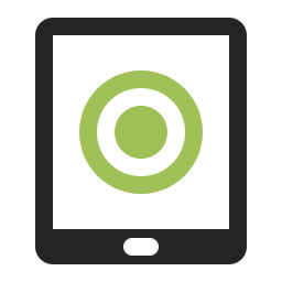 Tablet Computer Touch Icon 256x256