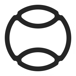 Tennis Ball Icon 256x256