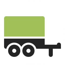 Truck Trailer Icon 256x256