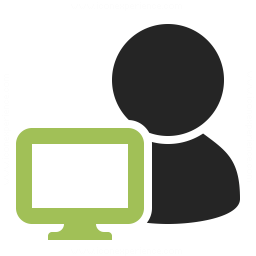 User Monitor Icon 256x256