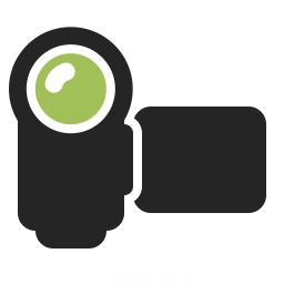 Video Camera Icon 256x256