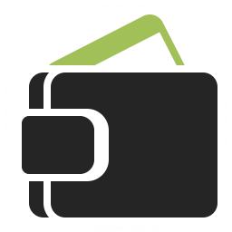 Wallet Icon 256x256